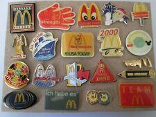 c12 lotto 20 spille McDONALDS fast food mc donald's badge donald spille lot pins