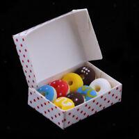Dollhouse Miniatures 1:12 Doughnut Box Kitchen Accessories Room Items Decor