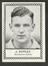 More details for barratt confectionary famous football 1930s manchester united j rowley