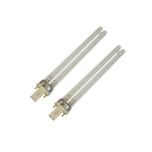 2 X 11W 11 Watt POND CLARIFIER FILTER PLS 2 PIN UV UVC BULB TUBE LAMP (F10f)