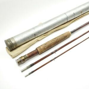 """Vintage Orvis Bamboo Fly Fishing Rod. 8' 6"""". See Description."""