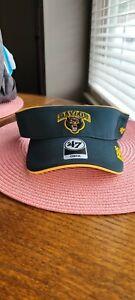 University of Baylor Bears 47 Brand OSFA Unisex Adult Green Visor NWT NCAA