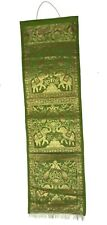 Home Décor Wall Hanging Tapestry Brocade Green3 Letter Magazine Newspaper Holder