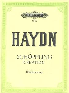 HAYDN Schöpfung Klavierauszug Edition Peters Nr.66 - mod. Antiquariat
