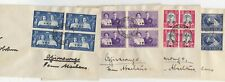 South West Africa KGVI 1947 Covers x 4 Postal History JK1789