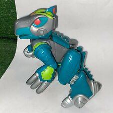 "2002 Playskool Go-Bots Beast-Bot Dino-Bot Transformers Green Takara 5.5"" Tall"