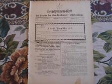 1892 ...Württemberg 5 / Reklame Stuttgart Hall / Nachruf Burkhardt Göppingen