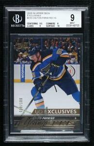 2015 Upper Deck Young Guns UD Exclusives 38/100 Colton Parayko #235 BGS 9 Rookie