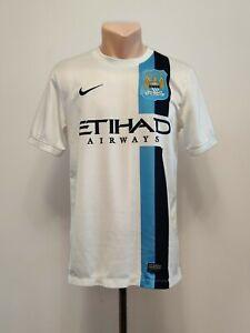 Football shirt soccer FC Manchester City Cityzens Third 2013/2014 Nike Jersey S