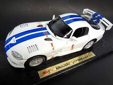 Dodge 1997 Viper GTS-R Racing Coupe 1:18th scale diecast model by Maisto GTS R