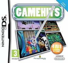 Gamehits (4 Classic Games in 1) Nintendo NDS DS Lite DSi XL Brand New