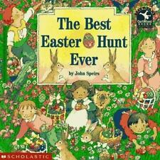 The Best Easter Egg Hunt Ever Read with Me Cartwheel Books Scholastic Paperbac