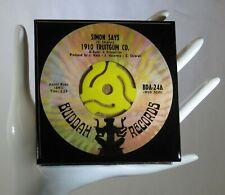 New listing 1910 Fruitgum Co. - Music Drink Coaster Made with Original 45 rpm Record