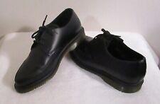 NEW Dr Martens Willis Unisex 3-Eye Creeper Oxford Shoes 7 W/6 M Black MSRP$130
