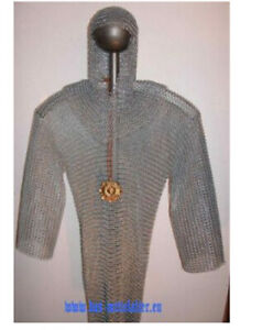 Kettenhemd verzinkt Mittelalter Sonderpreis Größe L