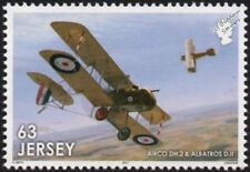 WWI RAF AIRCO DH.2 & ALBATROS D.II Aircraft Stamp/2017 The Great War in the Air