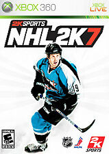 XBOX 360 NHL 2K7 (Game Stop price stickers on case) with manual