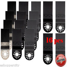 16 Oscillating MultiTool Saw Blade For Bosch Ryobi Ridgid Rockwell Hyperlock