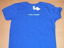 Apple Logo I'm Mac Compatible. Kid's Royal Blue T-shirt by Apple  - 2T