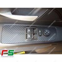 fiat grande punto 3 porte ADESIVI decal alzacristalli tuning sticker carbon look