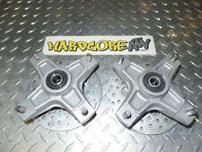 EW Kawasaki KXF250 KXF 250 TECATE 4 STOCK OEM FRONT HUBS HUB SET W ROTORS 2