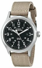 Timex Expedition Scout Wrist Watch 42MM Quartz Round Nylon Band