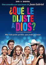 Que le dijiste a Dios (DVD, 2015)