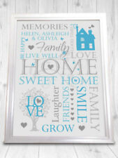 Christmas Family Names Decorative Indoor Signs/Plaques