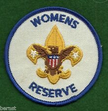 BOY SCOUT - ADULT POSITION PATCH - WOMENS RESERVE - FREE SHIPPING        XX