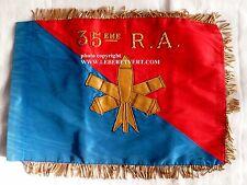 FANION 35° RA (PARACHUTISTE) RAP REG. ARTILLERIE G.I. INSTRUCTION ORIGINAL 1970s