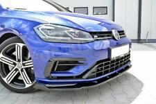 Facelift Golf 7 R Diffusor R-Line Lippe Spoilerlippe Frontansatz VW MK7 VII FD1