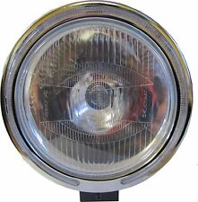"""9"""" Clear White Spot Fog Light Lamp LED Ring 12v 55w H3 Bulbs - BRIGHT"""