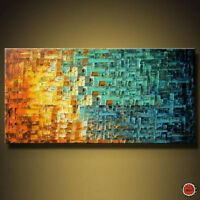 ZWPT79  charming 100% hand-painted abstract oil painting decor art Canvas