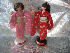 Barbie Happy New Year Japanese Oshogatsu Lot of 2-1990's-De-boxed Nice!