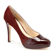 NIB $250 Vince Camuto  SIGNATURE Browynn leather pumps heels shoes Red Pecan 7,5