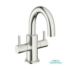 Crosswater Mike Pro Brushed Stainless Swivel Spout Mini Basin Monobloc PRO118DNV
