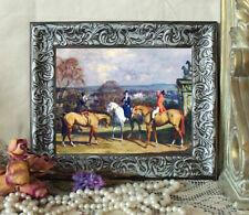 NEW PIC Munnings Sidesaddle AFTER HUNT Horse Print Vintage Style Framed 11X13