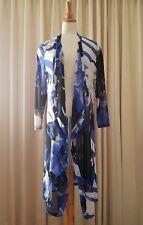 New TS TAKING SHAPE Waterfall Cardigan Sheer Stretch Size Plus XXS / 12 14 New