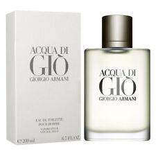 ACQUA DI GIO POUR HOMME de GIORGIO ARMANI - Colonia / Perfume 200 mL  Man / Uomo