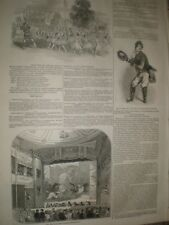 Cinderella Lyceum Theatre de Londres & Nuevo Estándar Teatro Shoreditch 1845 Impresiones