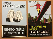INDIGO GIRLS Rare 2004 DOUBLE SIDED PROMO POSTER FLAT w/ RELEASE DATE of That CD