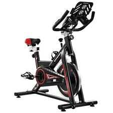Stationary Exercise Bike Indoor Cycling Bicycle Cardio Fitness Gym Workout W/LCD