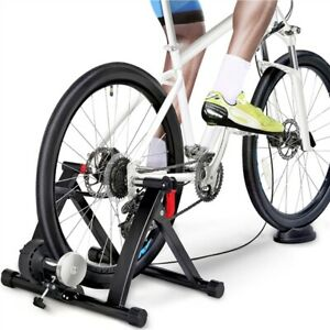 Magnetic Bike Trainer Stand w/6 speed Level for Indoor stationary Exercise,Black
