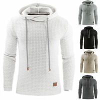 Men's Premium Athletic Soft Sherpa Lined Fleece UP Hoodie Coat Sweater Jacket