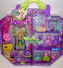 Disney Fairies Tink's Ultimate Pixie Closet Tinkerbell Doll and 15 fashion acc