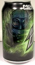 "NEW FULL 12oz Can Mountain Dew ""Call of Duty Game Fuel"" Tropical Flavor USA 2011"