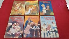 LOT of 6 Original Vintage 20's - 40's Soft Cover Uncle Arthur's Bedtime Stories