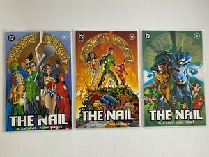 Justice League The Nail Set #1-3 8.0VF (1998)