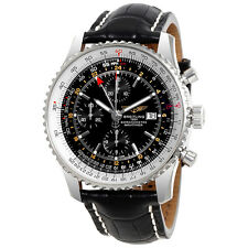Breitling Navitimer World Chronograph Automatic Mens Watch A2432212-B726BKCT
