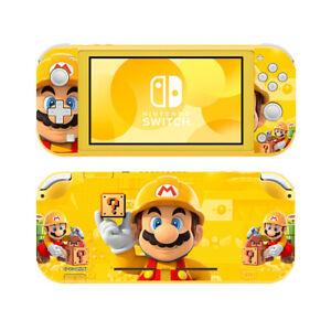 Ci-Yu-Online Mario Yellow Vinyl Skin Screen Protector for Nintendo Switch Lite